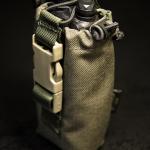 Kieszeń na UV-5R (3800mAh) (Ranger Green) - widok z przodu.