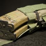 DCMP-L (Ranger Green) - widok z boku, z magazynkami AK.