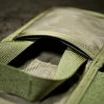 IFAK Insert (Olive) - Kieszeń z dostępem z zewnątrz oraz kieszeń przeźroczysta.