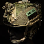 Ops-Core FAST Cover with MS2000 and AN/PRC-148/152 battery pouch (MultiCam® Tropic™).