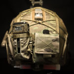 Ops-Core FAST Cover with MS2000 and AN/PRC-148/152 battery pouch (MultiCam® + Coyote Brown mesh).