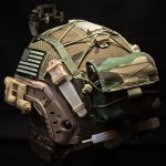 Ops-Core FAST Cover with CWP Mk1 (M81 Woodland).