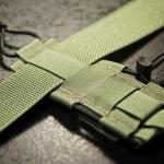 TSG (Ranger Green) zamontowane na pasie o szerokości 44mm.