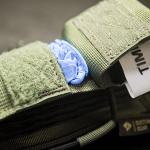 TSG (Ranger Green) - otwarta kieszonka na rękawiczki.