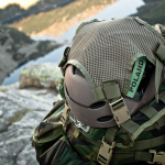 Helmet Carrying Panel (Ranger Green).