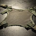 Helmet Carrying Panel (Ranger Green).