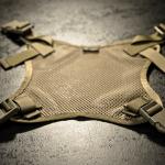 Helmet Carrying Panel (Coyote Brown).