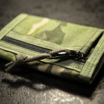 """Minimal"" Wallet (MultiCam® Tropic™ + Olive finish)."