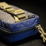 """Spartan-R"" EDC Waist Pack (Navy/Grey/Coyote Brown)."