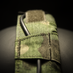"""Koala"" Headset Cover (MultiCam® Tropic™/Olive Green)."