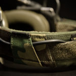 """Koala"" Headset Cover (M81 Woodland/Olive Green)."