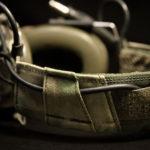 """Koala"" Headset Cover ( A-TACS® FG™/Olive Green)."