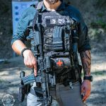 IFAK-SD (MultiCam® Black™) attached to plate carrier.