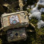 """""""Frontier"""" Chest Rig with IFAK-SD attached (MultiCam®)."""