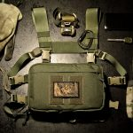 """""""Frontier"""" Chest Rig (Olive Green)."""