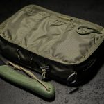 """""""Frontier"""" Chest Rig (Olive Green inside)."""