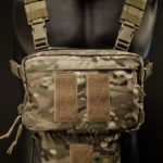"IFAK-SD (MultiCam®) under ""Frontier"" Chest Rig."