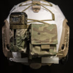 Ops-Core FAST Maritime Cover with MS2000 and AN/PRC-148/152 battery pouch (White).