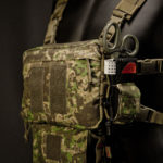 "IFAK-SD (PenCott® GreenZone™) under ""Frontier"" Chest Rig."
