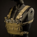 CR-4M (Coyote Brown) with custom flat shoulder straps.