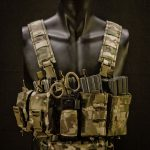 CR-4M (MultiCam®) with soft shoulder straps and an example gear configuration.