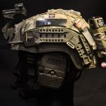 AMP-1E HC Cover with MS2000 And AN/PRC 148/152 Battery Pouch (MultiCam®).