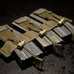 """""""Ranger"""" Chest Rig mag insert with AR magazines."""